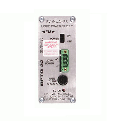 Opto22 SNAP-5V @ 4 AMPS-120VAC Logic Power Supply