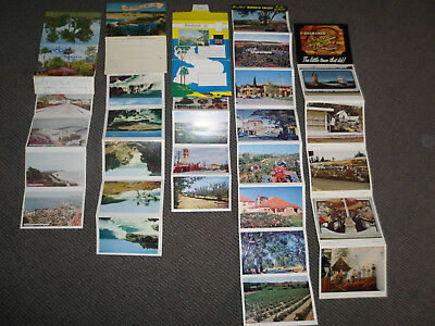 VINTAGE PICTURESQUE VIEWS OF FOLDER POSTCARDS PHOTOS FOLD OUT.+ More.