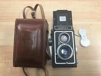 Zeiss Ikon Ikoflex TLR with 75mm f/3.5 Tessar Zeiss Opton