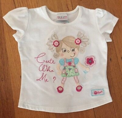 NEXT Girls Shirt Top Tshirt Size 0