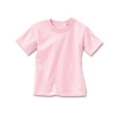 5-Pack Hanes Toddler Girls' Crewneck T-Shirts - Assorted Colors Sz  2/3T to 4T