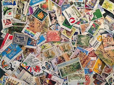 Australia Stamp Lots 100+ Off paper all different from KGV onwards. CHEAP AS