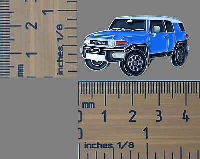 Toyota Landcruiser White Utility Lapel Pin Badge