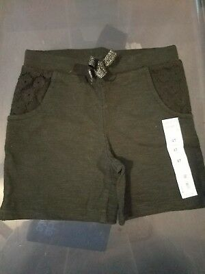 Jumping Beans Girls Toddler Shorts, 4T, Black, NWT