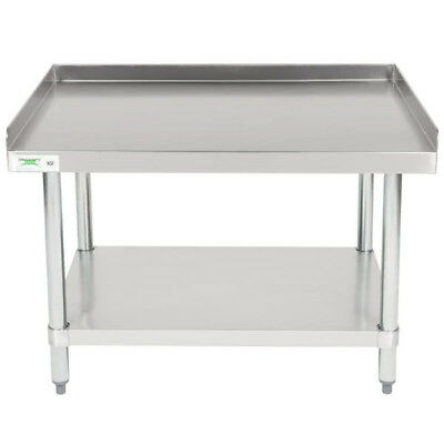 """30"""" x 36"""" Stainless Steel Commercial Restaurant Kitchen Equipment Stand"""