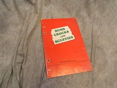 RARE 1941 Coca Cola publication BUMS CROCKS AND SCUFFIES (Bottle conditions)