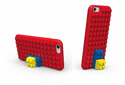 iphone 6s and 6 case Building blocks (red). Lego