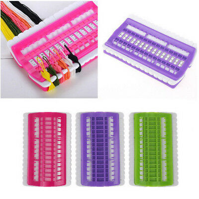 Cross Stitch Row Line Tool 30 Position Sewing Needles Embroidery Thread Holder S