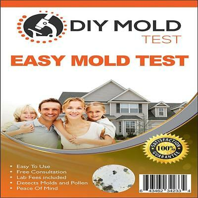 DIY Mold Test, Testing Kit (3 tests). Lab Analysis and Expert Consultation...