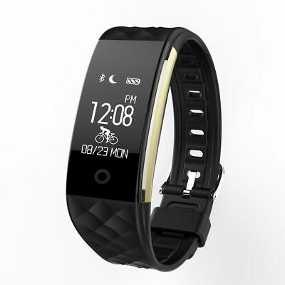 Waterproof Sports Fitness Tracker Watch Heart Rate Activity Monitor Fitbit style