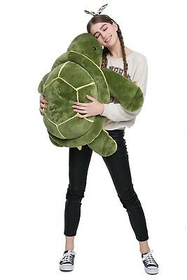 Morismos Giant Big Plush Eyes Sea Turtle Stuffed Animal Plush