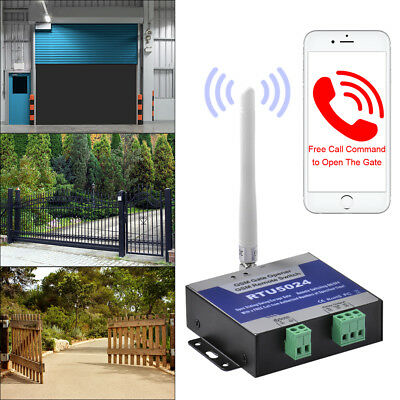 GSM Door Gate Opener Remote On/Off Switch App Free Call SMS Text Control BI835