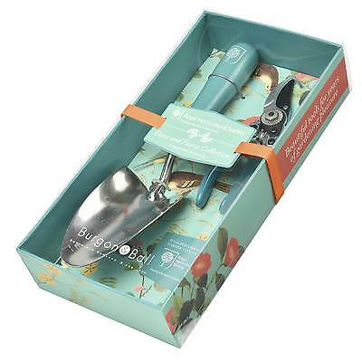 RHS Flora and Fauna Garden Trowel & Secateurs by Burgon & Ball