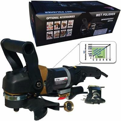 Stadea SWP101K Stone Wet Polisher - Variable Speed Grinder For Concrete...