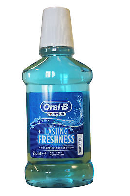 Oral B Complete Long Lasting Freshness Mouthwash – Arctic Mint Flavour 250ml
