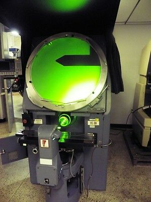 "30"" JONES & LAMSON J&L FC30 Optical Comparator with QC200 DRO"