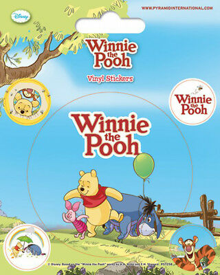 Winnie The Pooh Balloon Disney Stickerset Sticker Aufkleber 10x12,5cm