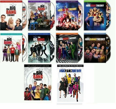 The Big Bang Theory: Complete Series All Season 1-10 DVD Collection Set