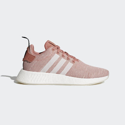 Adidas Originals Nmd R2 W Women Boost Ash Pink Clear Running Shoes new CQ2007