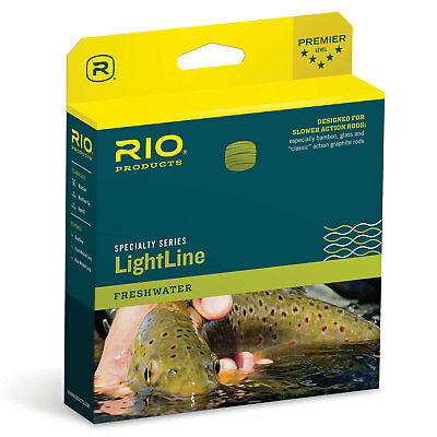 FLY LINE Weight Forward Floating 3WT Loop end Yellow slick finish 85/' LN416