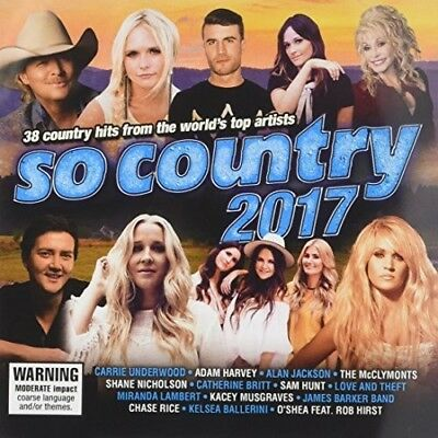 Various Artists - So Country 2017 / Various [New CD] Australia - Import