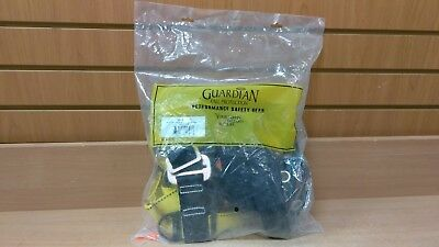 Guardian Fall Protection 01703 Velocity Harness Pass Thru Chest Leg Buckle - NEW