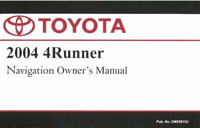 1999 toyota 4runner owners manual user guide reference operator book rh picclick com 2004 4Runner Service Manual toyota 4runner owners manual 2004 pdf
