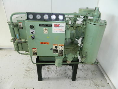 40 Hp Sullair  Rotary Screw Air Compressor Model 10B-40 160Cfm @ 115/125 Psi
