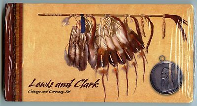 Lewis & Clark Coin & Currency Set - NEW Sealed - United States Mint - AP104