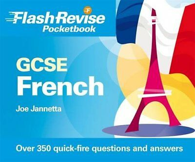 GCSE French Flash Revise Pocketbook by Jannetta, Joe Paperback Book The Cheap