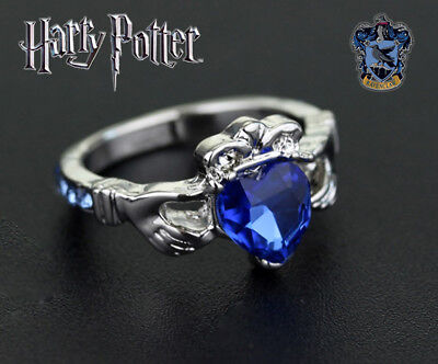 Harry Potter Ravenclaw House Ring, Wizarding World, Noble, Hogwarts, Jewelry, HP