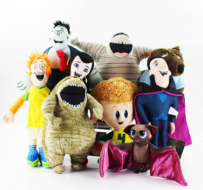 Hotel Transylvania Murray Mavis Dennis Dracula Bat Plush Soft Doll Toy Gift New