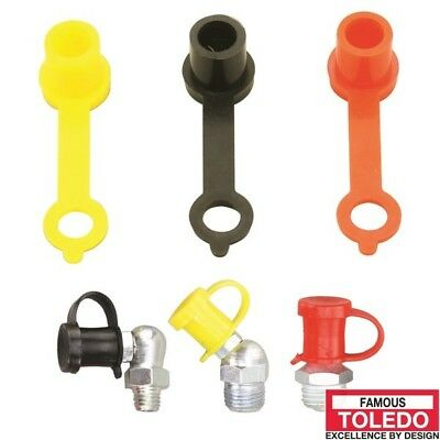 TOLEDO Grease Nipple Protective Caps - Assorted 10 Pack 305396