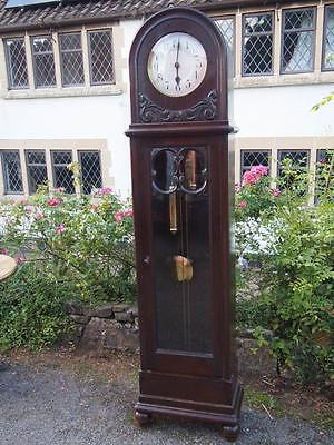 Beautiful Old Vintage/Antique Art Deco Grandfather/Longcase Clock Great Shape