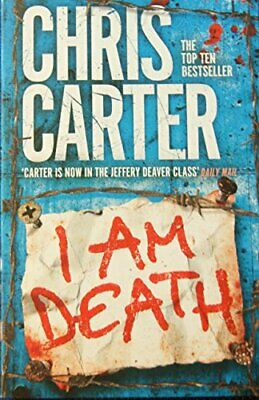 I Am Death Pa by Chris Carter Book The Cheap Fast Free Post