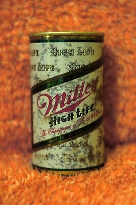 Vintage Pull Tab Steel Can. Miller High Life The Champagne of Bottle Beer
