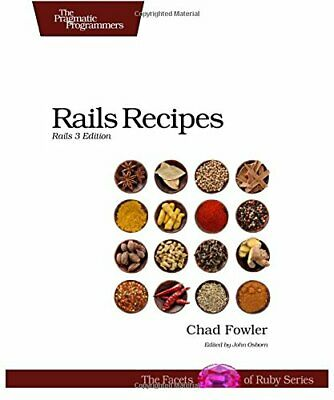Rails Recipes: Rails 3 Edition by Chad Fowler Book The Cheap Fast Free Post