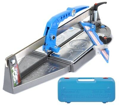 Tile Cutter Machine Manual Montolit Minipiuma 43T Cutting Lenght 45 Cm With Box