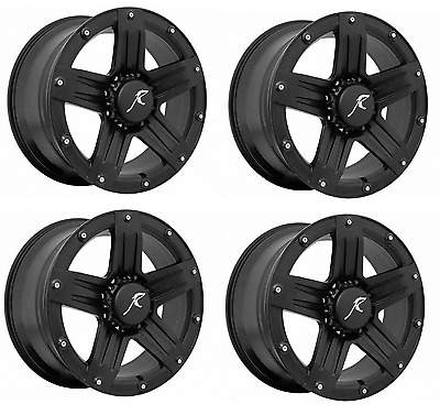 Raptor Series 311B 209 6135 12 Indecent Exposure 4 Pc Black 20x9