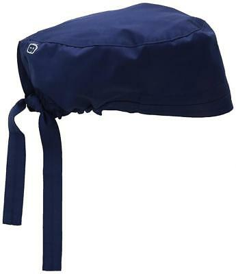 New Elastic Band Men's Wonderwork Unisex Scrub Cap Hat Navy Surgical One Size