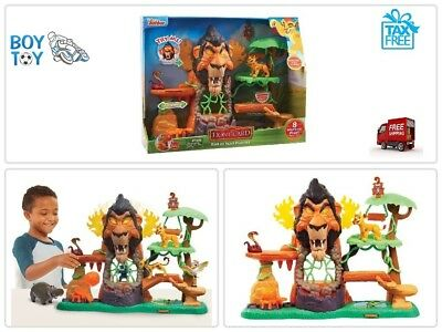 Just Play Lion Guard The Rise of Scar Play Set Fun Lights and Sounds Pop Out New