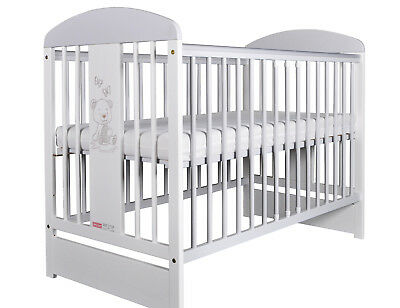 Baby cot with mattress included