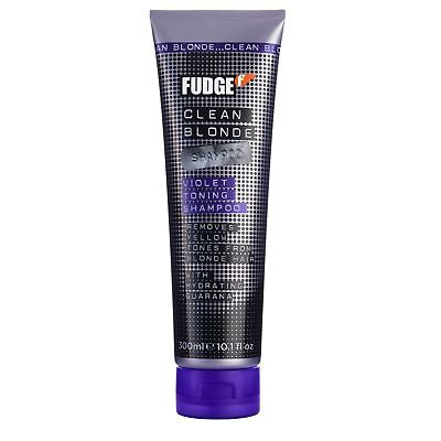 Fudge Clean Blonde Violet Toning Purple Shampoo 300Ml New.