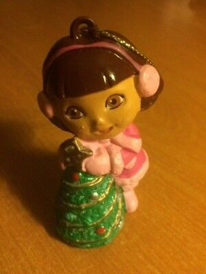 New Dora The Explorer Holiday Christmas Tree Ornament New