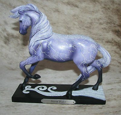 TRAIL OF PAINTED PONIES Storm Rider 3E/5190 ~ Lightning Bolts~Regal Horse Stance