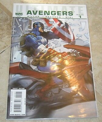 Ultimate Avengers #1 2nd Print Variant VF/NM Mark Millar Marvel Comics