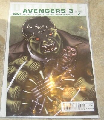 Ultimate Avengers 3 #2 VF/NM Mark Millar Marvel Comics