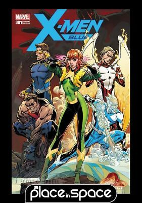 X-Men: Blue #1 - Exclusive J.scott Campbell Cvr A