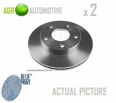 2 x BLUE PRINT FRONT BRAKE DISCS SET BRAKING DISCS PAIR OE REPLACEMENT ADN14394