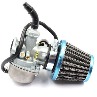 Universal Motorcycle Carburetor & Air Filter For Most 70CC 90CC 110CC Brand Good